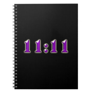 Purple 11:11 Numbers Notebooks