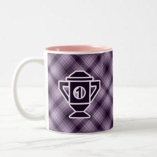 Purple 1st Place Trophy Coffee Mugs
