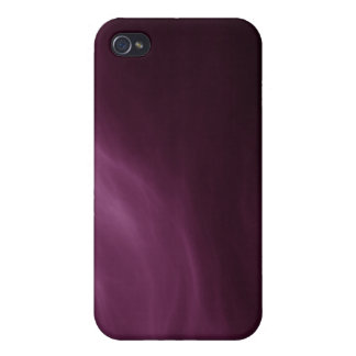 Purple Abstract Art TPD Case For iPhone 4
