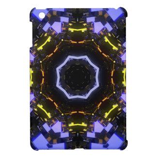 Purple abstract iPad mini cases