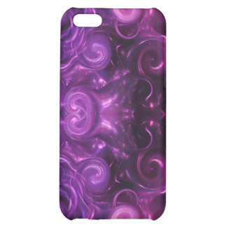 purple abstract iPhone 5C case
