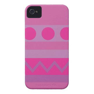 Purple Abstract Patterns Blackberry Case