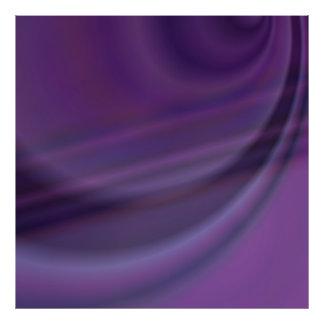 Purple abstract photo print