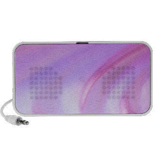 Purple Abstract Portable Speaker