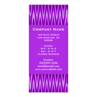 purple abstract rack cards