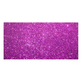Purple Abstract Shine Glitter Door Sign