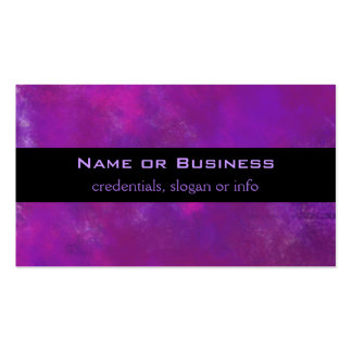 Purple Abstract Texture Business Cards