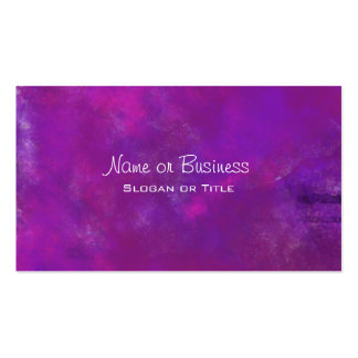 Purple Abstract Texture Pack Of Standard Business Cards