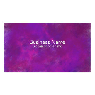 Purple Abstract Watercolor professional Business Card Template