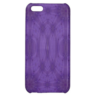 Purple abstract wood iPhone 5C cover
