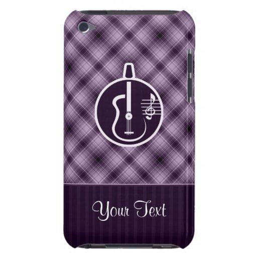 Purple Acoustic Guitar iPod Case-Mate Cases