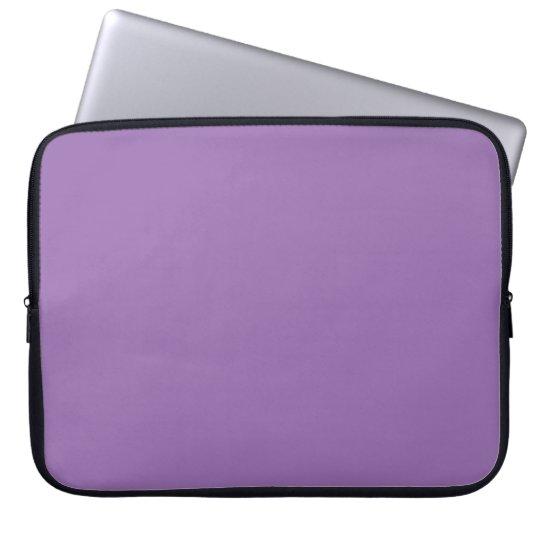Purple African Violet Trend Colour Customised Laptop Sleeve