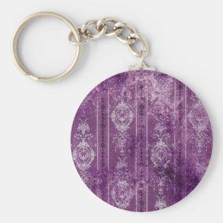 purple aged wallpaper keychains
