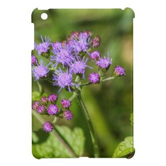 Purple Ageratum Wildflowers iPad Mini Cover
