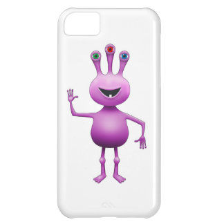 Purple Alien iPhone 5C Cover