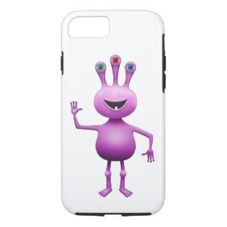 Purple Alien iPhone 7 Case