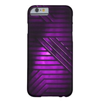 Purple Alien Metal Barely There iPhone 6 Case