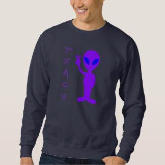 Purple Alien Sweatshirt