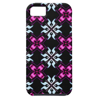 purple and black funky i phone case