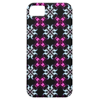 purple and black funky i phone case