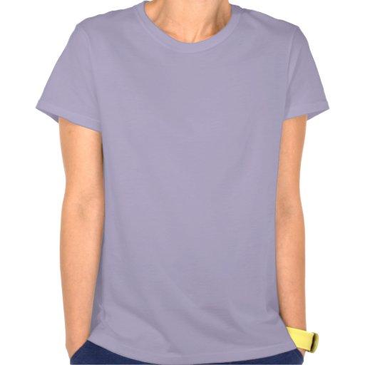 Purple And Black Hearts T-Shirt