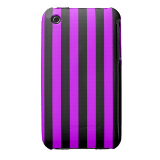 Purple and black iPod touch case