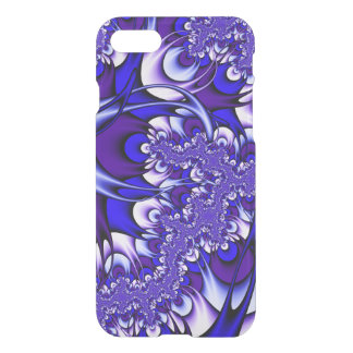 Purple and Blue Fractal iPhone 8/7 Case