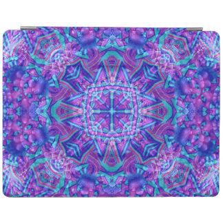 Purple And Blue Kaleidoscope iPad Smart Covers iPad Cover