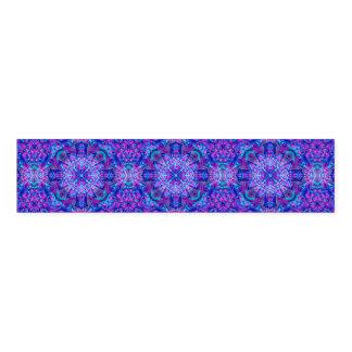 Purple And Blue Kaleidoscope  Napkin Bands