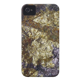 Purple and Gold Abstract Art Blackberry Bold Case- iPhone 4 Cases