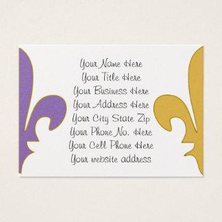 Purple and Gold fleur de lis gifts