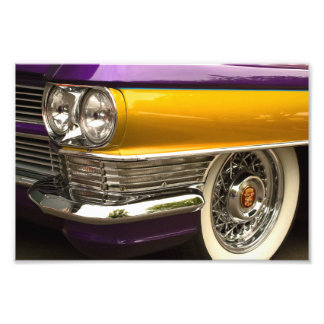 Purple And Gold. Photo Print