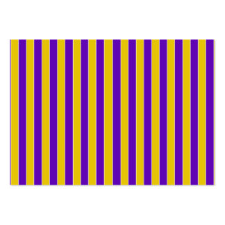 Purple And Gold Team or School Colors Business Cards