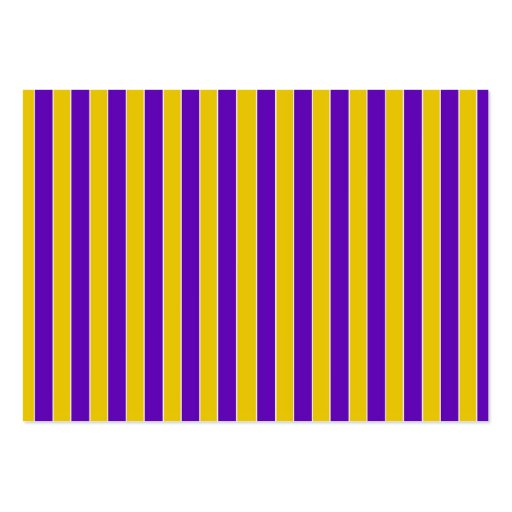 Purple And Gold Team or School Colors Business Card Templates