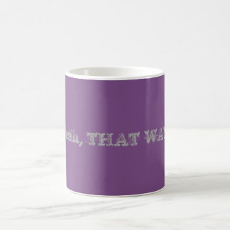 Purple and Gray Mug