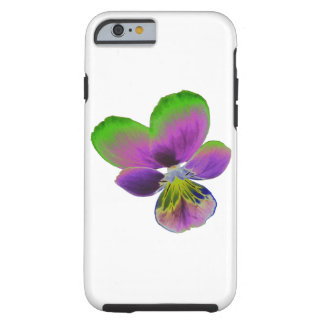 Purple and Green Pansy iPhone 6 case