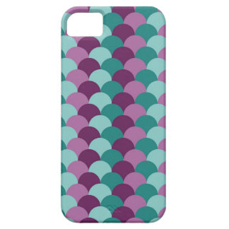 Purple and Green Scales Pattern iPhone 5 Covers