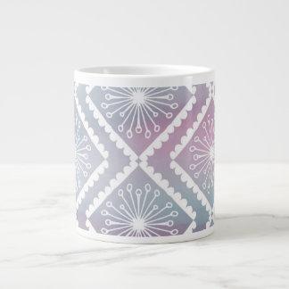 Purple and Green Seamless Patterned Jumbo Mug