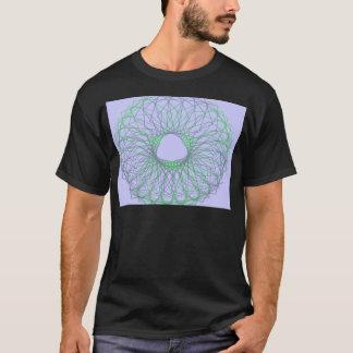 Purple and green spirograph T-Shirt