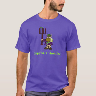 Purple and Green St. Urho's Day T-Shirt