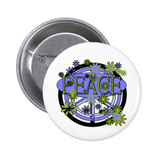 Purple and Lime Peace T-shirts and Gifts Pins