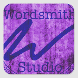 Purple and Navy WSS Logo Stickers