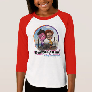 Purple and Nine: Besties jersey for kids T-Shirt