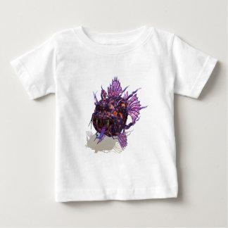 Purple and orange ocean creature baby T-Shirt