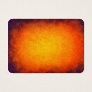 Purple and orange sunset texture business card