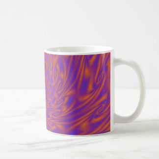 Purple and Orange Vortex Coffee Mug