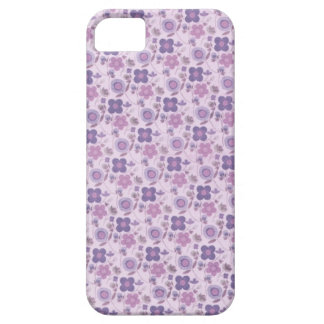 Purple and Pink Mini Flowers iPhone 5 Covers