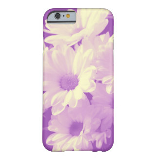 Purple and Soft Yellow Daisies Barely There iPhone 6 Case
