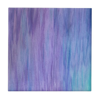 Purple and Turquoise Fusion Tile