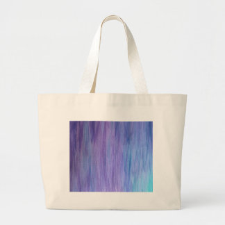 Purple and Turquoise Fusion Tote Bag
